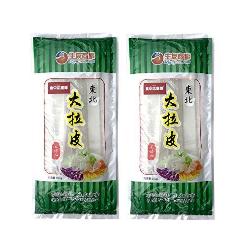 東北大拉皮【2点セット】 中国春雨 板状粉皮 ダーラーピー