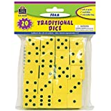 TEACHER CREATED RESOURCES FOAM TRADITIONAL DICE (Set of 6)