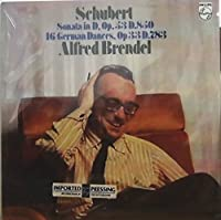 ブレンデル シューベルト ピアノ・ソナタ第17番, 16のドイツ舞曲 Brendel Schubert Piano Sonata No.17, D.850 & 16 German Dances [蘭 Philips] SEALED