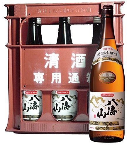 八海山 特別本醸造 1800ml 6本