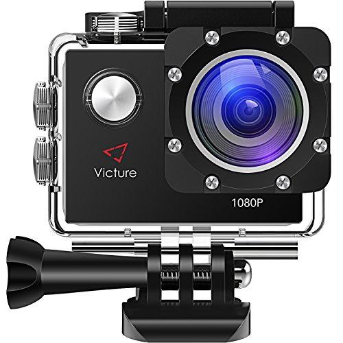 Victure アクションカメラ 1200万画素 1080P フルHD 17...