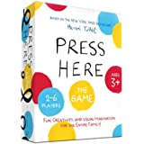 Hervé Tullet's Press Here Game (Art Games for Preschool, Preschool Game, Games for Children Ages 2-6)