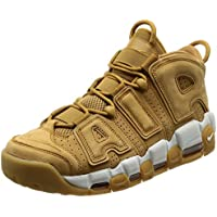 Nike Men's Air More Uptempo PRM, WHEAT-FLAX/FLAX-GUM LIGHT BROWN