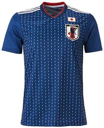 サッカー ワールドカップ 2018 日本代表 ホーム レプリカ ユニフォーム 半袖 メンズ ボーイズ L