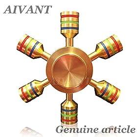 AIVANT iSpin ハンドスピナー ADHD 平均回転 3分 民族1