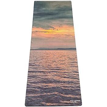 Yoga Design Lab (ヨガデザインラボ) ヨガマット 厚さ3.5mm コンボマット ストラップ付 (Sunset)
