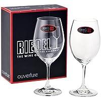 リーデル RIEDEL グラス ワイングラス OUVERTURE(オヴァチュア) レッドワイン ペア 6408/00 [並行輸入品]