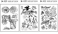 (ランナー)RUNNER-JP 手帳 誕生日 DIY 印鑑 道具 クリアスタンプ 手作りスタンプ かわいい 透明 面白い (10)