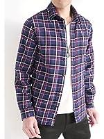 (オークランド) Oakland 起毛 フランネルシャツ シャツ チェックシャツ トップス カジュアル MODE きれい目 メンズ