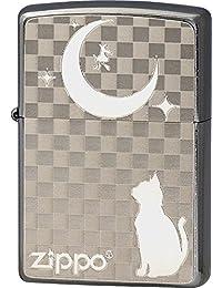 Zippo(ジッポー) オイルライター 2MP-ネコと月 2MP-ネコと月