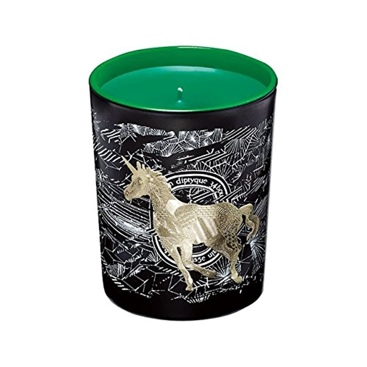 誘導奪うたぶんDiptyque Cosmic Seasonal Scented Candle Holiday Limited Edition – フロストフォレスト( Foret Givree )グリーンユニコーン – 6.5 Oz...