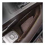 ドア収納ボックス、メルセデスGLE W167 GLS W167 x167 GLS W167 x167 GLEカーボンGLE 2020 GLE 350 / AMG 450 500E AMG Ixteriorアクセサリー (Color Name : Black front 2pcs)