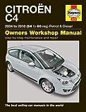 Citroen C4 Petrol & Diesel (04 - 10) 54 To 60 (Haynes Service and Repair Manuals)
