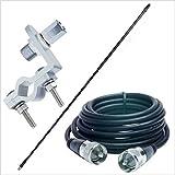 CB無線・漁業・アマチュア用 26MHz〜30MHz 耐入力500W アンテナフルセット/平行輸入品