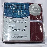 ホテルLife 1600シートツインXL Burgundy