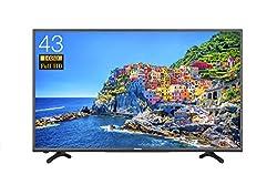 ハイセンス 43V型フルハイビジョン液晶テレビ 外付けHDD録画対応(裏番組録画) HJ43K3120 2016年モデル