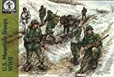 ワーテルロー1815 1/72 第二次世界大戦 アメリカ山岳部隊 8ポーズ24体 3ラバ プラモデル WA72031