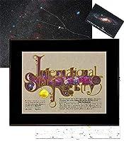 Star Registry Name A Star ブラック デラックススターキット 写真スカイイメージ付き