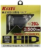 KOITO [小糸製作所] ハイパワーHIDバルブ D2R リフレクタータイプヘッドランプ用(車検適合) 2ヶ入り [品番] P35200 ライト