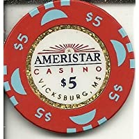 $ 5 AmeristarカジノビクスバーグカジノチップObsolete Riverboat ?