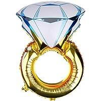 Dovewill  ダイヤモンドリング 風船 バルーン 結婚式 パーティー 装飾 飾り