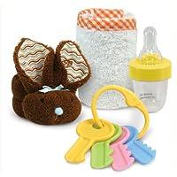 Stephan Baby Boo Bunnie Mini Comfort Kit, Chocolate by Stephan Baby [並行輸入品]