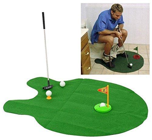 【 お父さんの密かな楽しみ 】トイレで楽しむ ゴルフパター ...