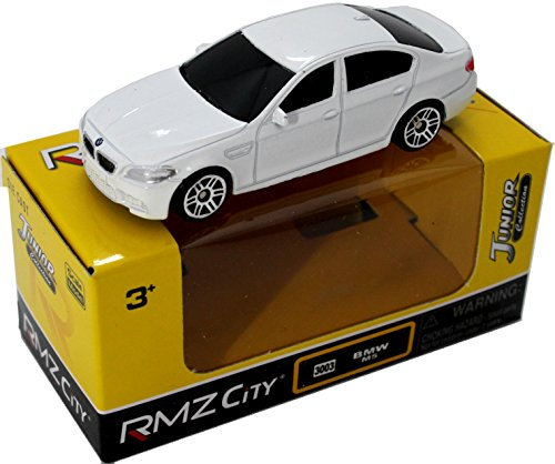 RMZ City 3003 BMW M5 White 3インチダイキャストモデルミニミニカー