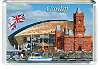 H417 Cardiff 冷蔵庫マグネット イギリス イギリス 旅行 冷蔵庫マグネット