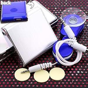 デバイスネット ピタッとスピーカー(ブルー) DN-A002BU