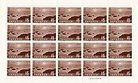 国立公園切手 第2次国立公園シリーズ 西海 九十九島 1971年 昭和46年 15円切手シート