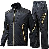 MIZUNO PRO ミズノプロ ブレスウインドブレーカーシャツ&ブレスウインドブレーカーパンツ 12JE5W8409-12JF5W8409 /上下 Oサイズ ブラック×ゴールド