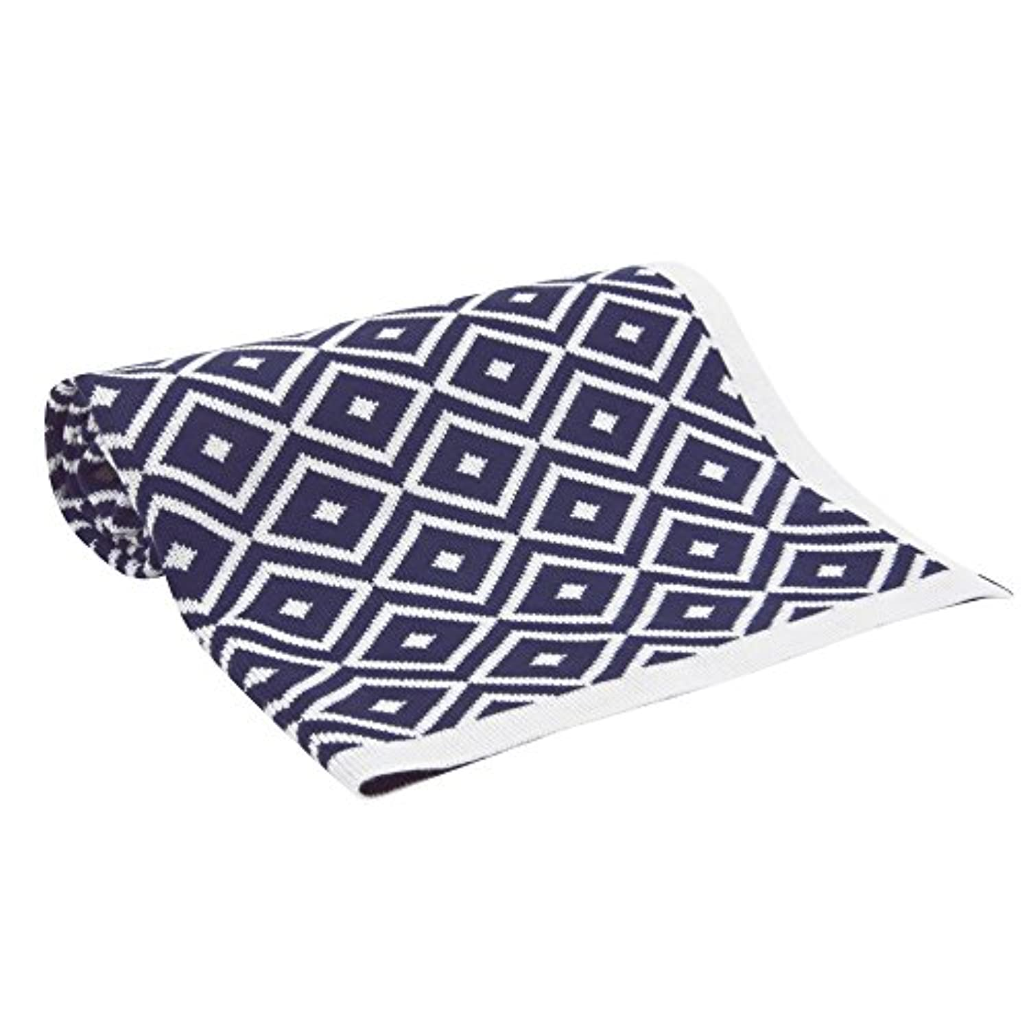 Lambs & Ivy Classic Navy Collection Blanket by Lambs & Ivy