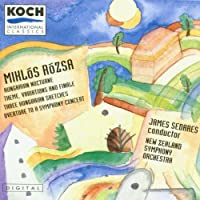 Rozsa;Orchestral Music Vol.1