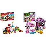 レゴ (LEGO) デュプロ ディズニー ミッキーとミニーのバースデーパレード 10597 & レゴ(LEGO)デュプロ ミニーのお誕生日パーティー 10873【セット買い】