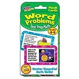 Trend Enterprises Word Problems Test Prep Math Grades 4-6 Challenge Cards チャレンジカード 算数クイズ(4-6年生レベル)