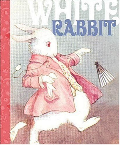 White Rabbit Mini Journal (Alice in Wonderland)