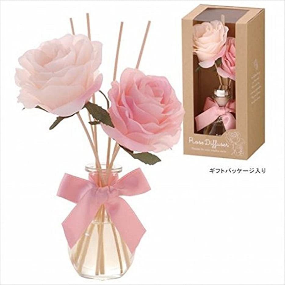 カメヤマキャンドル( kameyama candle ) ハーモニーローズディフューザー 「 ベビーローズ 」