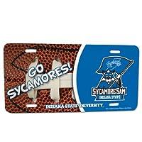 Indiana State University–ライセンスプレート–Footballデザイン