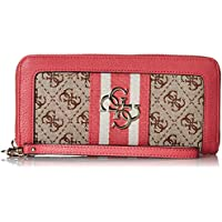 GUESS womens Guess Vintage Large Zip Around Wallet