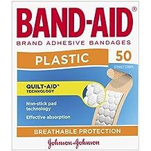 Band-Aid Plastic Strips 50