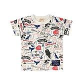 (オフィシャルチーム) OFFICIAL TEAM マリンライフパターン Tシャツ MARINE LIFE PATTERN T-SHIRTS半袖/プリントT/ロゴT 90 オフホワイト