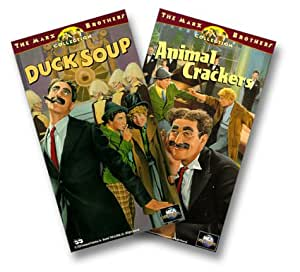 Animal Crackers/Duck Soup [VHS] [Import]