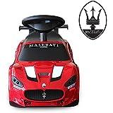 Wishtime マセラティ Maserati Trofeo 公認【正規ライセンス】子供 乗用車 乗り物 車 スライド ライダー 足こぎ 足けり おもちゃ