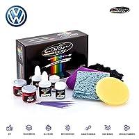 カラーNドライブタッチアップペイントfor VWゴルフ、パサート、GTI、ポロ、Jetta、BeetleとすべてのモデルペイントScrathとチップ修理キット–OEM品質、正確な一致、すべて1つのシステム Plus Pack CNDVW18-PLS0009