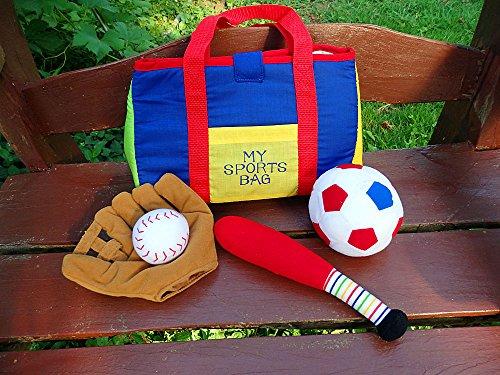 布おもちゃマイスポーツバッグ 知育...