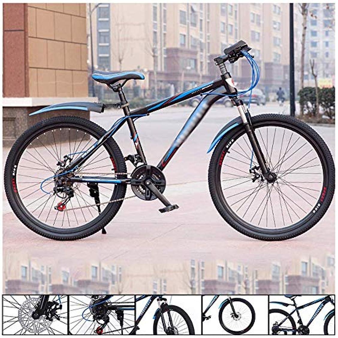 証明する不愉快うま24インチのマウンテンバイク、ダンパー24高速度鋼ダブルスポークロンドン自転車のディスクブレーキのマウンテンバイクビス