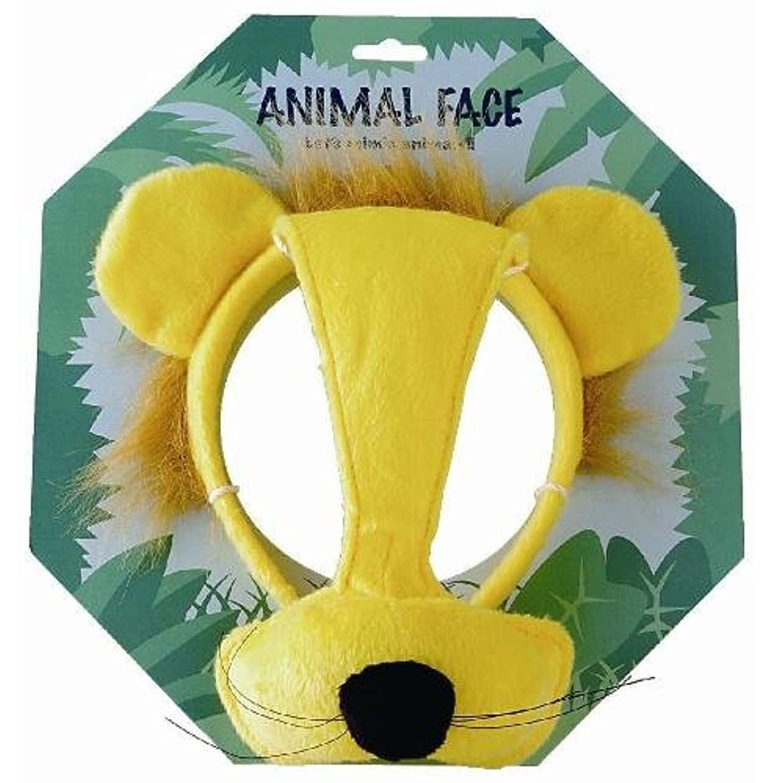 ごちそう黄ばむで出来ているアニマルフェイス ライオン