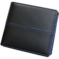 [ディアブロ] DIABLO 二つ折財布 大容量14ポケット 馬革×牛革 【KA-903】