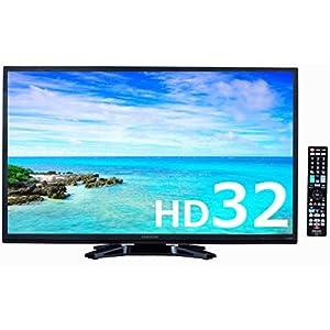 オリオン 32V型 ハイビジョン 液晶 テレビ BN-32DT10H 外付けHDD録画対応 ブルーライトガード搭載 ヘアラインブラック